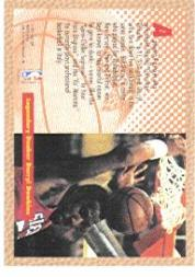 1992-93 Fleer #SD300 Darryl Dawkins AU back image