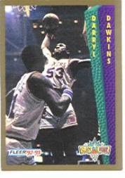 1992-93 Fleer #SD300 Darryl Dawkins AU