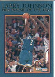 1992-93 Fleer Larry Johnson #4 Larry Johnson