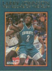 1992-93 Fleer Larry Johnson #7 Larry Johnson
