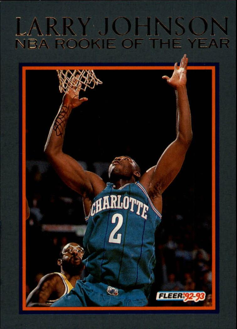 1992-93 Fleer Larry Johnson #13 Larry Johnson
