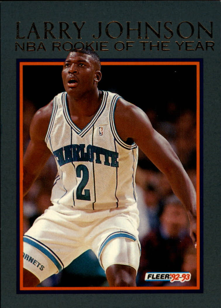 Buy 1992 93 Fleer Larry Johnson Sports Cards Online Basketball