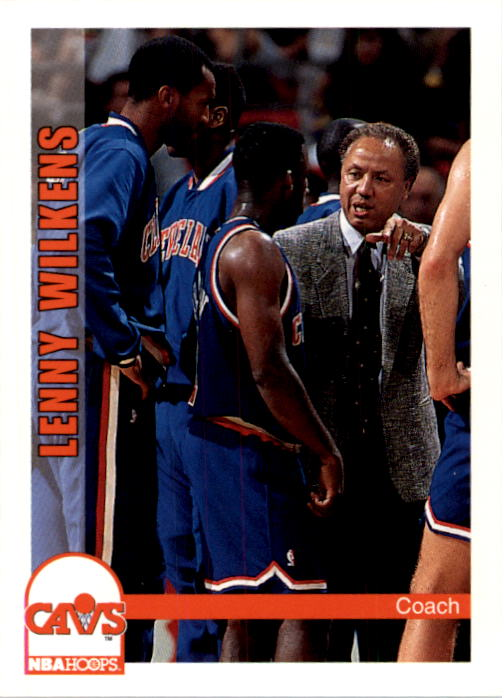 1992-93 Hoops #243 Lenny Wilkens CO