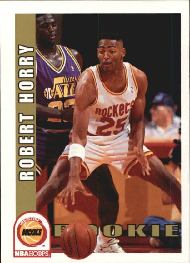 1992-93 Hoops #392 Robert Horry RC