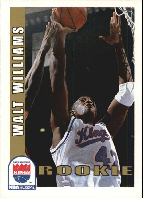 1992-93 Hoops #463 Walt Williams RC