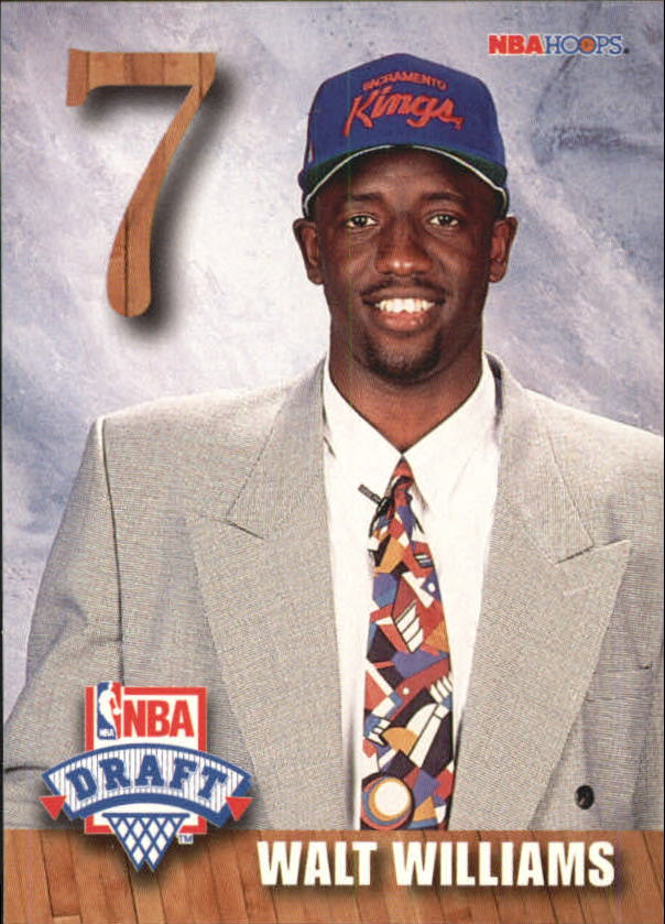 1992-93 Hoops Draft Redemption #F Walt Williams