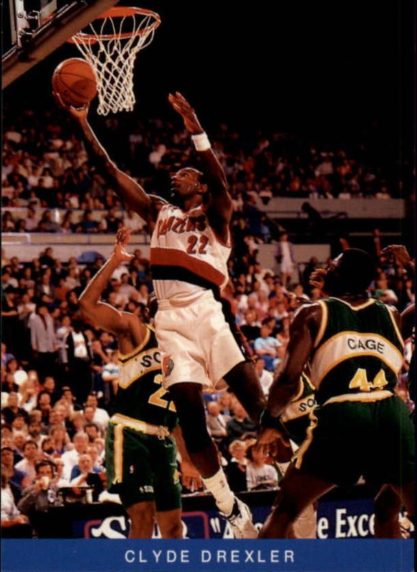1992-93 Trail Blazers Franz #9 Clyde Drexler