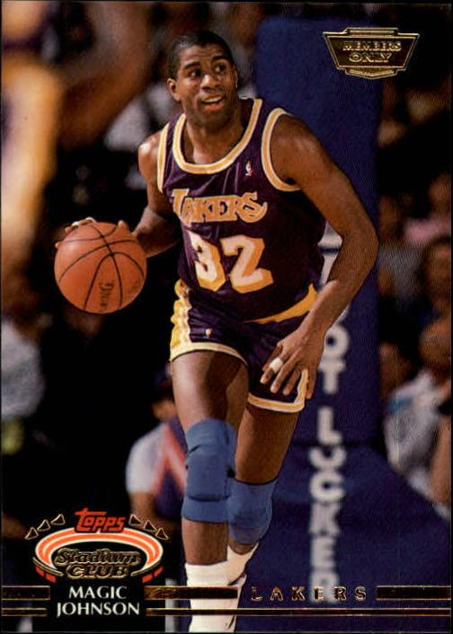 1992-93 Stadium Club Members Only Parallel #32 Magic Johnson