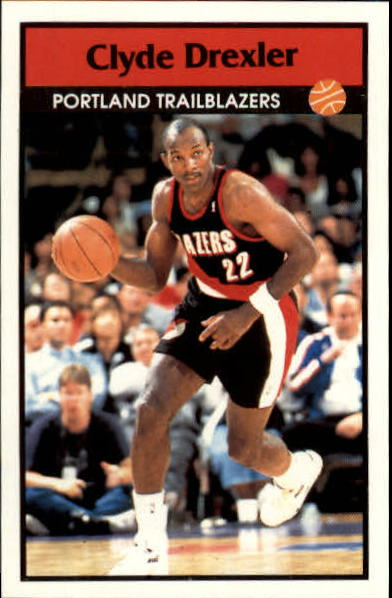 1992-93 Panini Stickers #46 Clyde Drexler