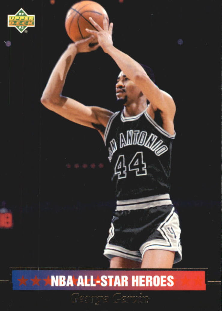 1992-93 Upper Deck All-Star Weekend #6 George Gervin