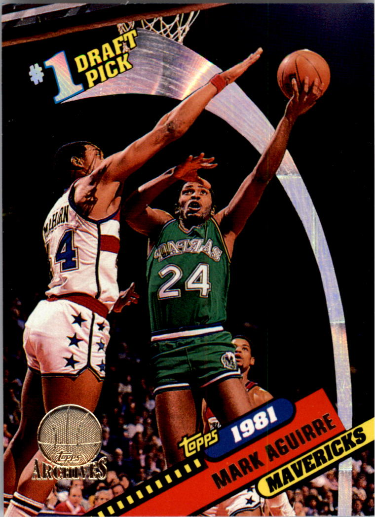 1992 93 Topps Archives Gold 1G Mark Aguirre FDP NM MT