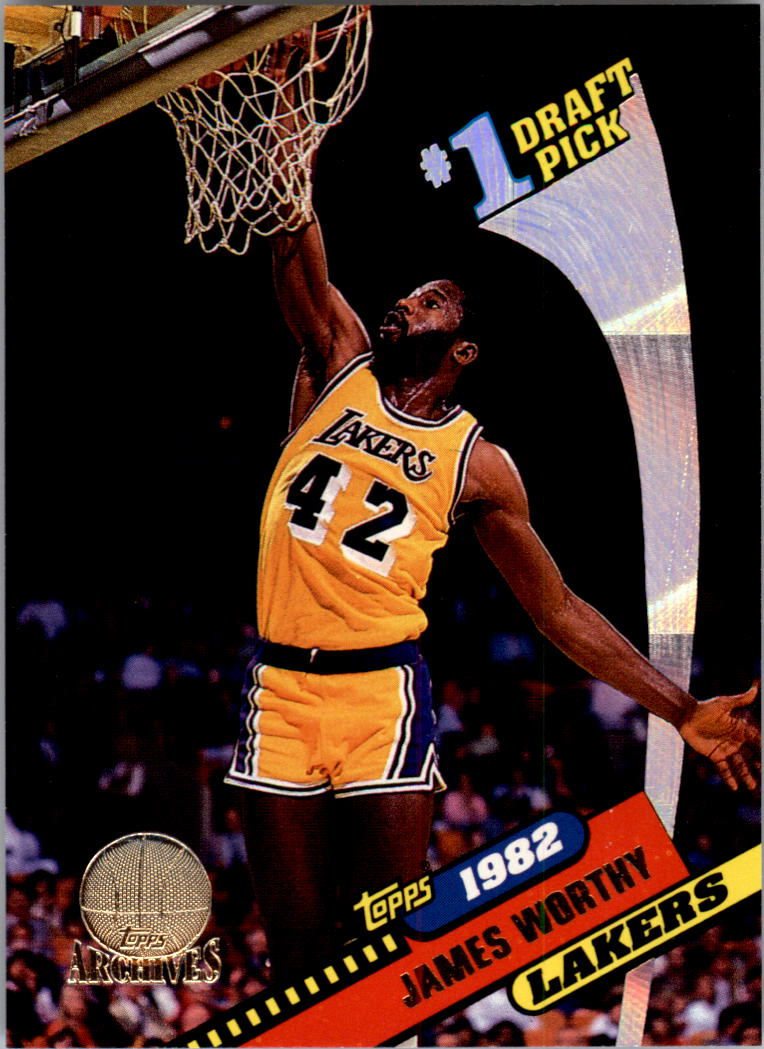 1992-93 Topps Archives Gold #2G James Worthy FDP