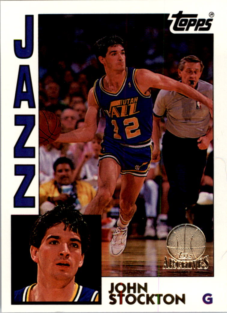 1992-93 Topps Archives Gold #57G John Stockton
