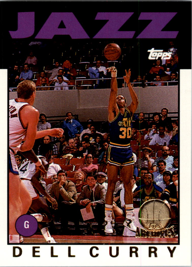 1992-93 Topps Archives Gold #77G Dell Curry