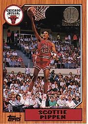 1992-93 Topps Archives Gold #97G Scottie Pippen