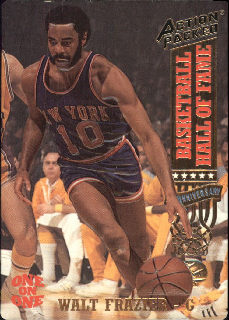 1993 Action Packed Hall of Fame #1 Walt Frazier