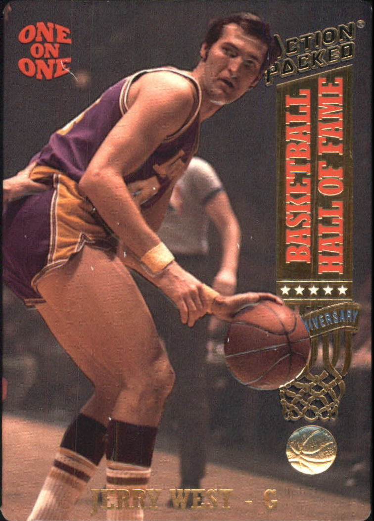 1993 Action Packed Hall of Fame #2 Jerry West