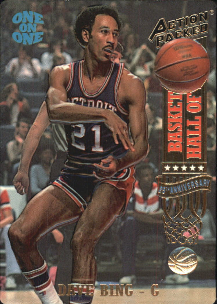 1993 Action Packed Hall of Fame #3 Dave Bing