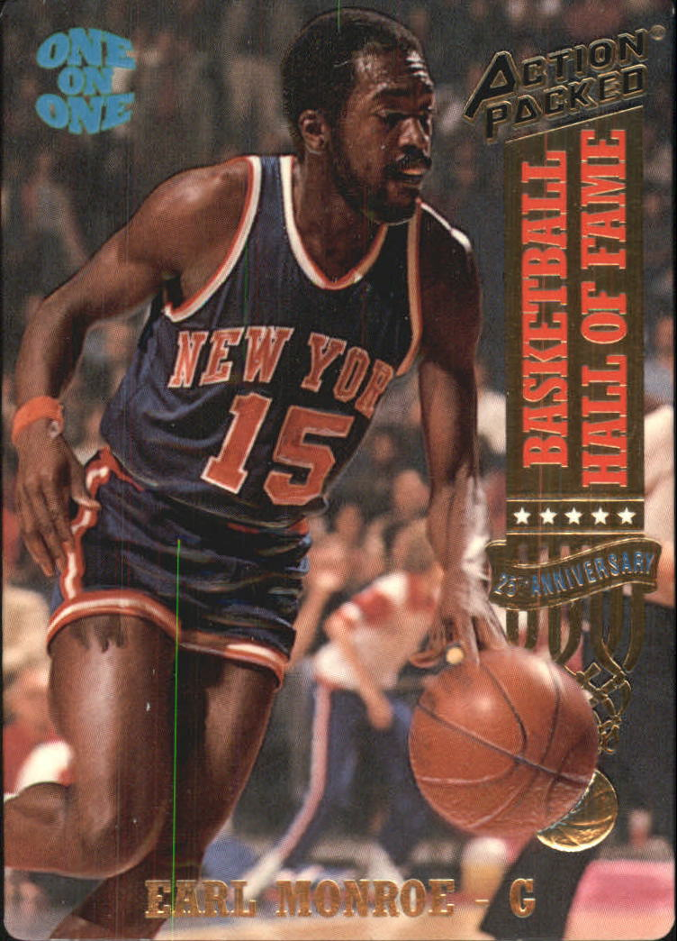1993 Action Packed Hall of Fame #4 Earl Monroe