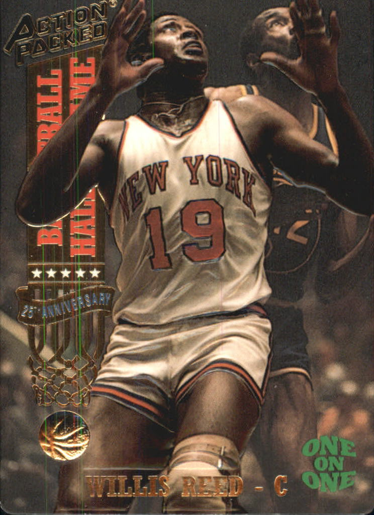 1993 Action Packed Hall of Fame #5 Willis Reed