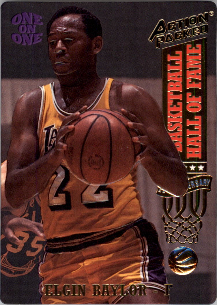 1993 Action Packed Hall of Fame #8 Elgin Baylor