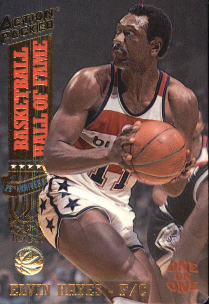 1993 Action Packed Hall of Fame #9 Elvin Hayes