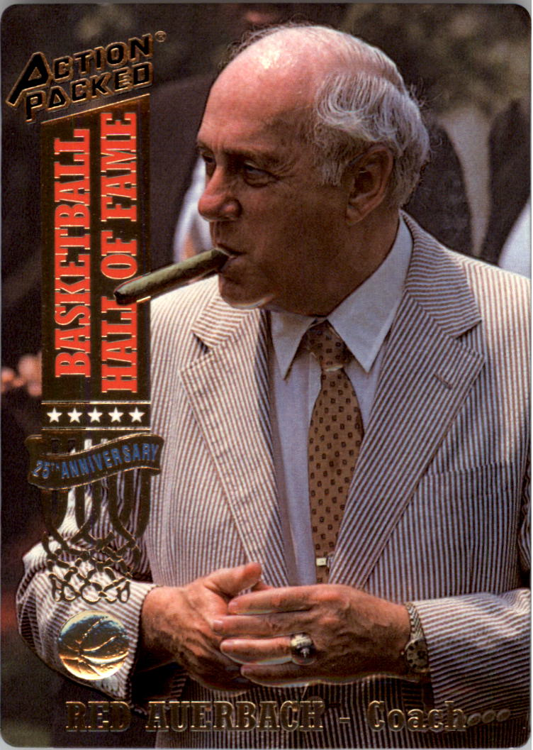 1993 Action Packed Hall of Fame #11 Red Auerbach CO