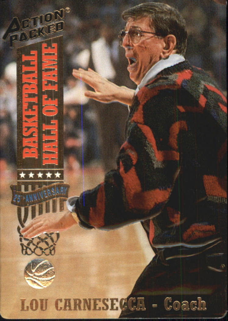 1993 Action Packed Hall of Fame #14 Lou Carnesecca CO