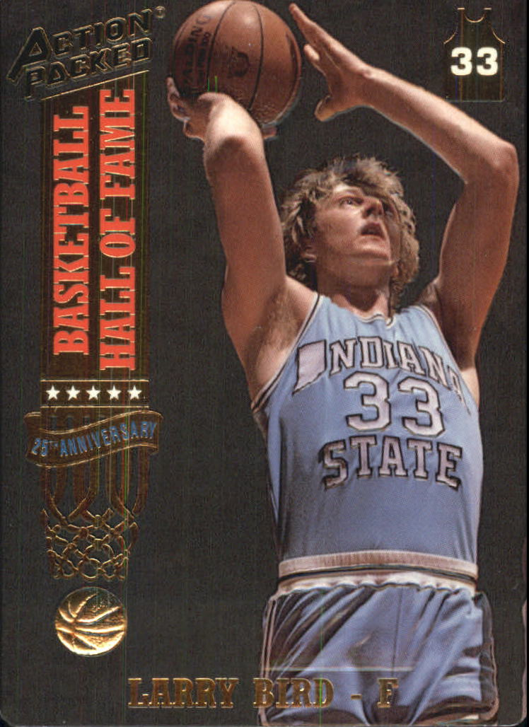 1993 Action Packed Hall of Fame #18 Larry Bird/Hometown Hero