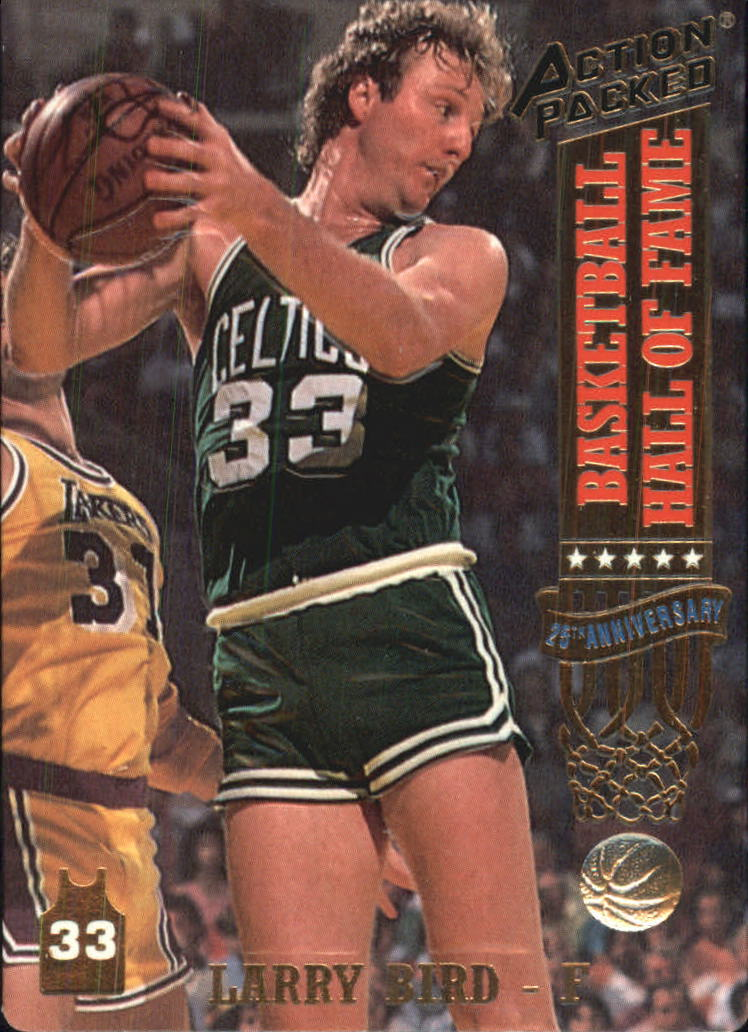 1993 Action Packed Hall of Fame #20 Larry Bird/A Celtics' Tradition