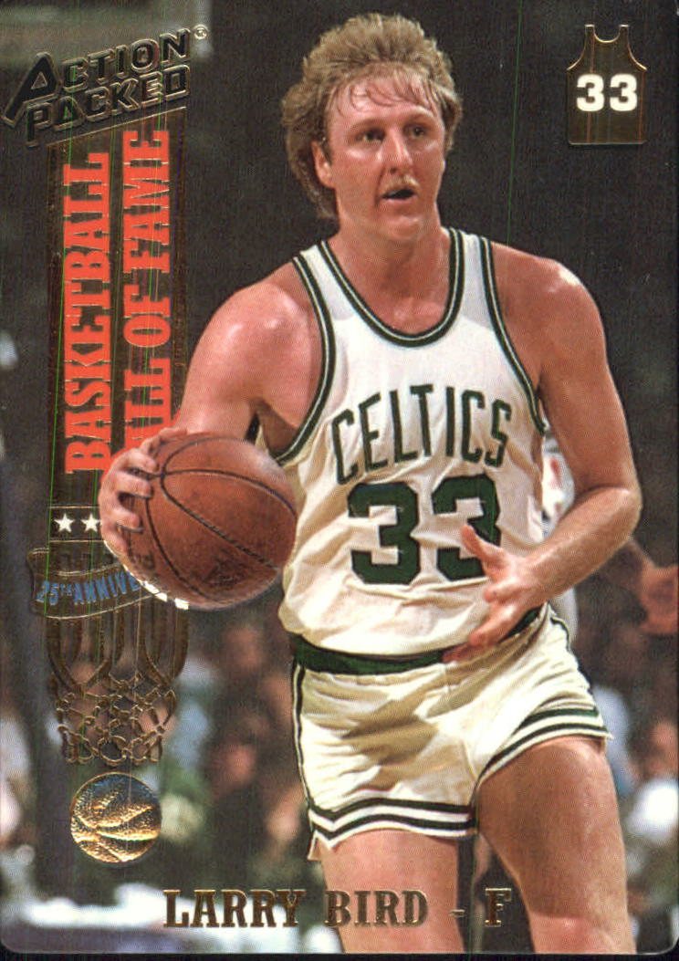 1993 Action Packed Hall of Fame #21 Larry Bird/Larry The Legend