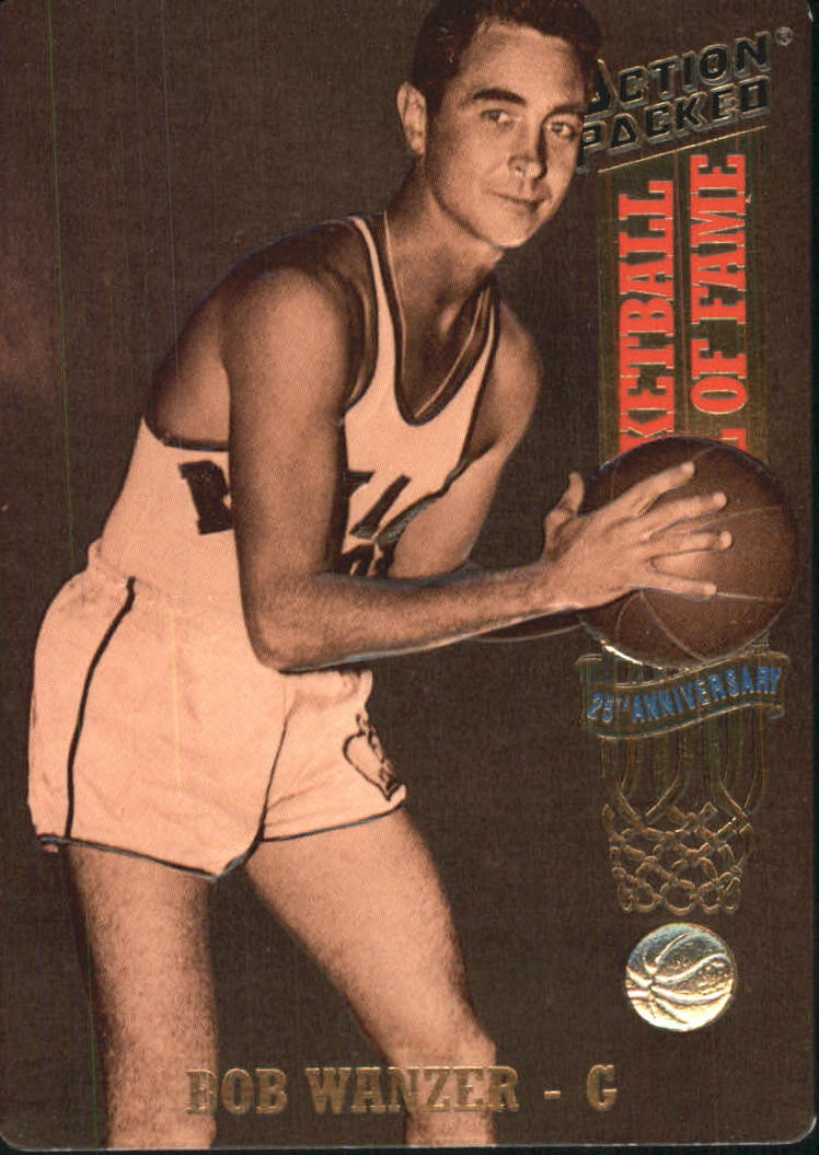 1993 Action Packed Hall of Fame #24 Bob Wanzer