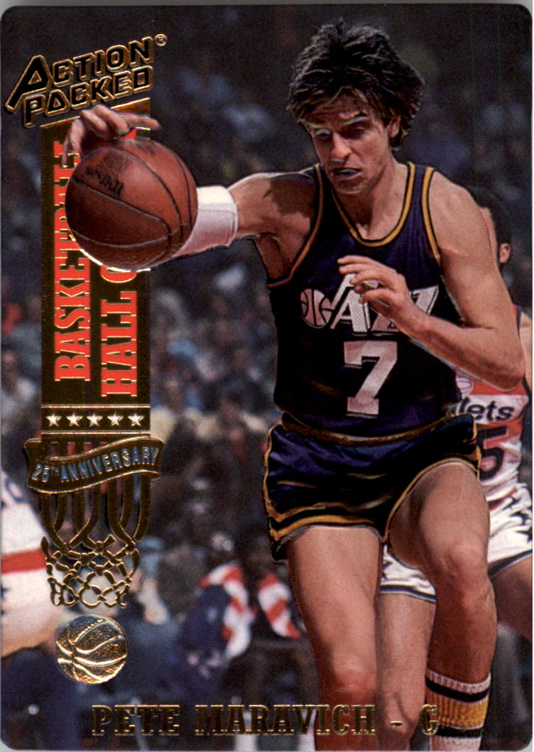 1993 Action Packed Hall of Fame #39 Pete Maravich