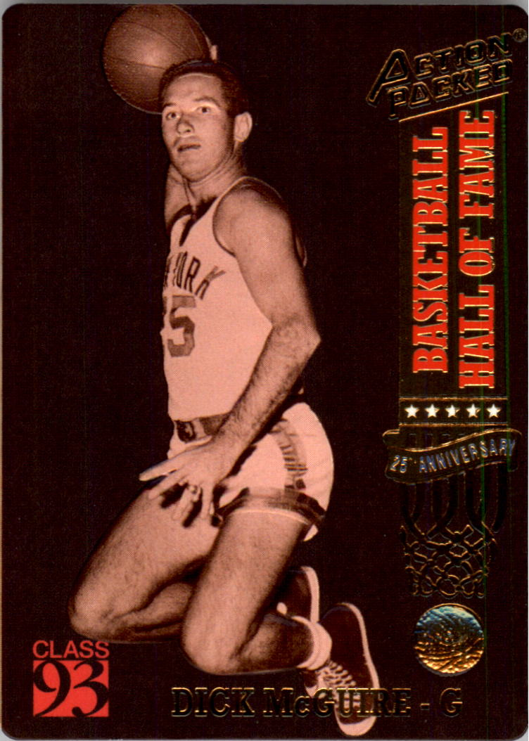 1993 Action Packed Hall of Fame 62 Dick McGuire NM MT