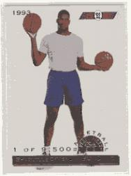 1993 Classic Gold #104 Shaquille O'Neal FLB