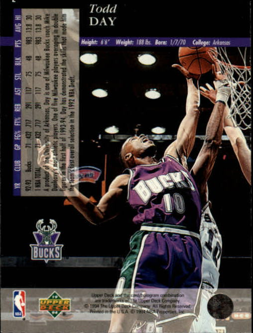 1993-94-Upper-Deck-SE-Basketball-Cards-Pick-From-List thumbnail 5