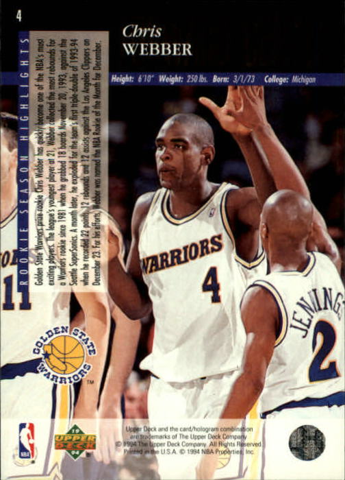 1993-94-Upper-Deck-SE-Basketball-Cards-Pick-From-List thumbnail 9
