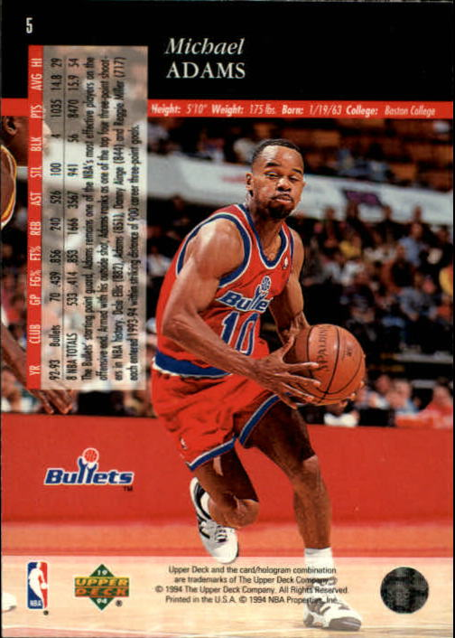 1993-94-Upper-Deck-SE-Basketball-Cards-Pick-From-List thumbnail 11