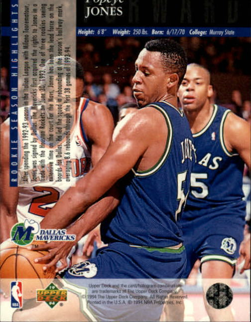 1993-94-Upper-Deck-SE-Basketball-Cards-Pick-From-List thumbnail 23
