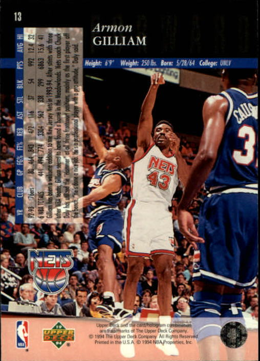1993-94-Upper-Deck-SE-Basketball-Cards-Pick-From-List thumbnail 27