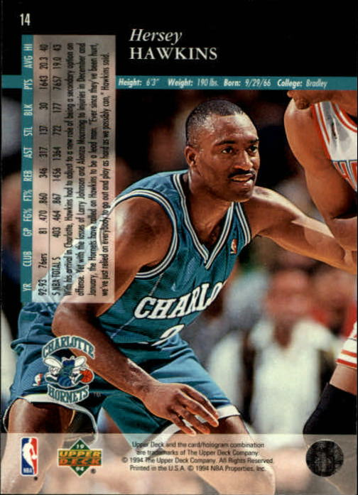 1993-94-Upper-Deck-SE-Basketball-Cards-Pick-From-List thumbnail 29