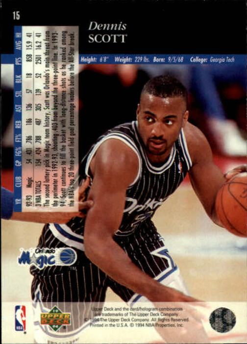 1993-94-Upper-Deck-SE-Basketball-Cards-Pick-From-List thumbnail 31