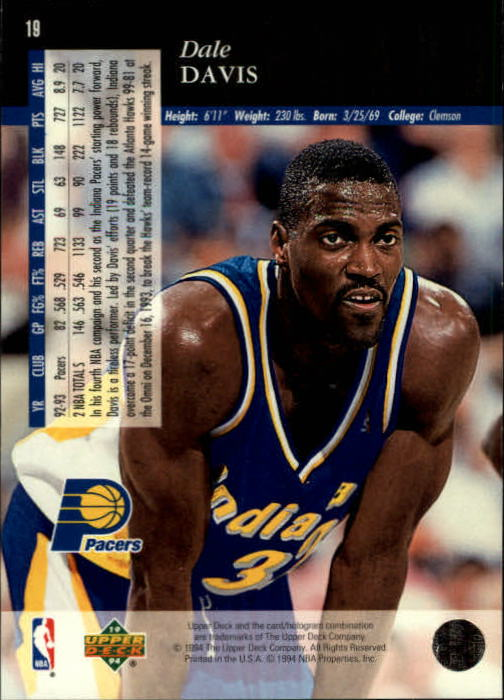 1993-94-Upper-Deck-SE-Basketball-Cards-Pick-From-List thumbnail 37