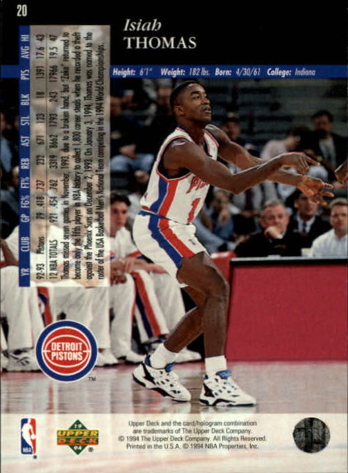 1993-94-Upper-Deck-SE-Basketball-Cards-Pick-From-List thumbnail 41