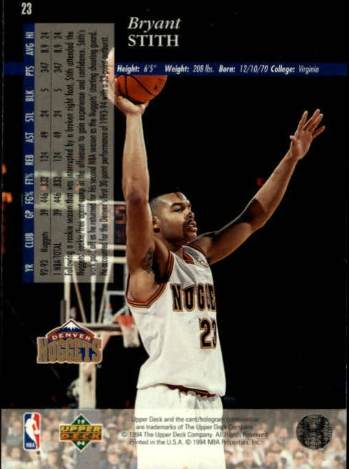 1993-94-Upper-Deck-SE-Basketball-Cards-Pick-From-List thumbnail 47
