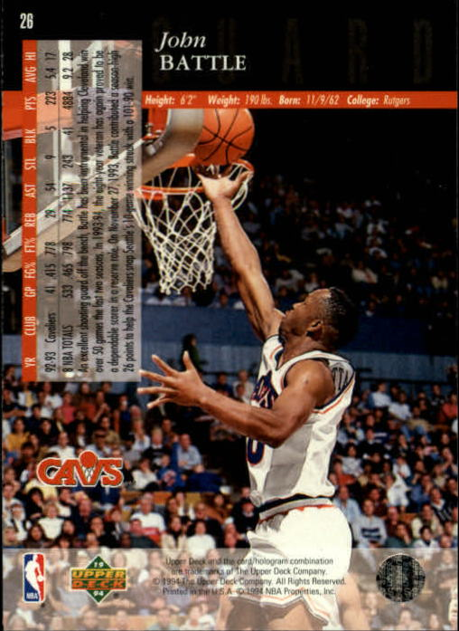 1993-94-Upper-Deck-SE-Basketball-Cards-Pick-From-List thumbnail 53