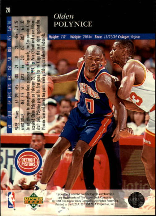 1993-94-Upper-Deck-SE-Basketball-Cards-Pick-From-List thumbnail 57