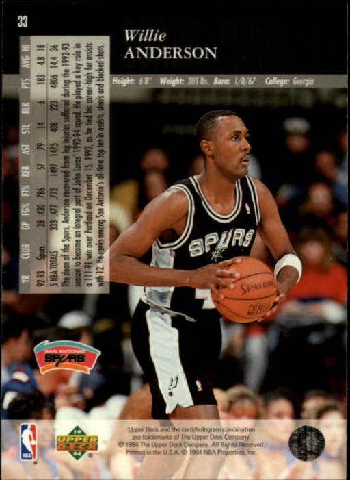 1993-94-Upper-Deck-SE-Basketball-Cards-Pick-From-List thumbnail 67