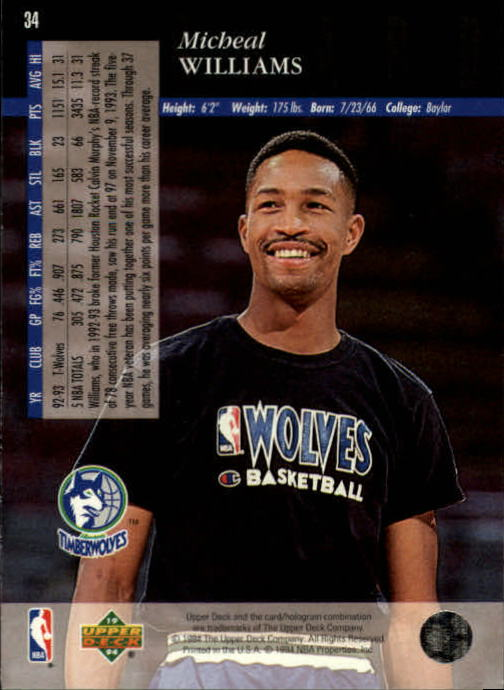 1993-94-Upper-Deck-SE-Basketball-Cards-Pick-From-List thumbnail 69