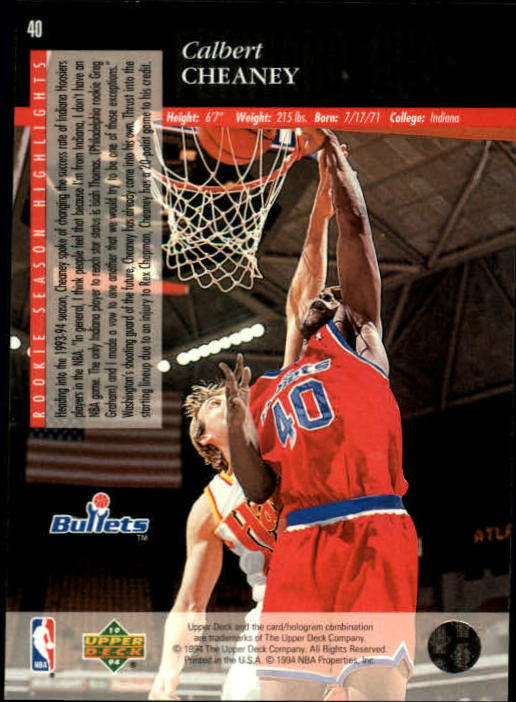 1993-94-Upper-Deck-SE-Basketball-Cards-Pick-From-List thumbnail 81